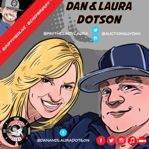 "Dan & Laura Dotson of A&E's ""Storage Wars"""