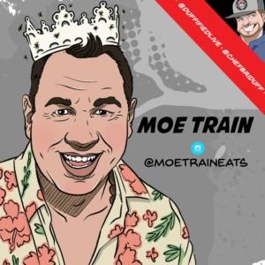 Competitive Eater Moe Train