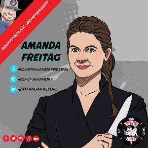 "Chef Amanda Freitag of TV's ""Chopped"""